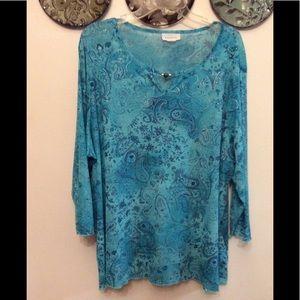 Swirls of turquoise n silver 🌹 Avenue